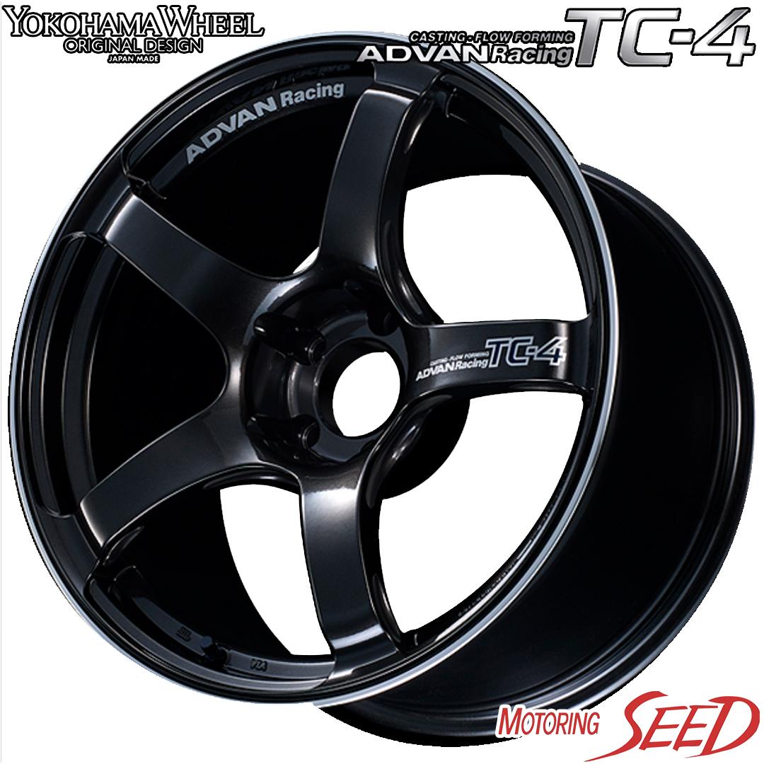 新品タイヤ ホイール 最新アイテム ヨコハマ アドバン レーシング TC-4 × クムホ ソルウス 4S HA32 『4年保証』 レクサスES カムリ等に オールシーズンタイヤホイール4本セット WHEEL KUMHO YOKOHAMA ADVAN 114.3 Racing 17×8J 5H +45 215 55R17