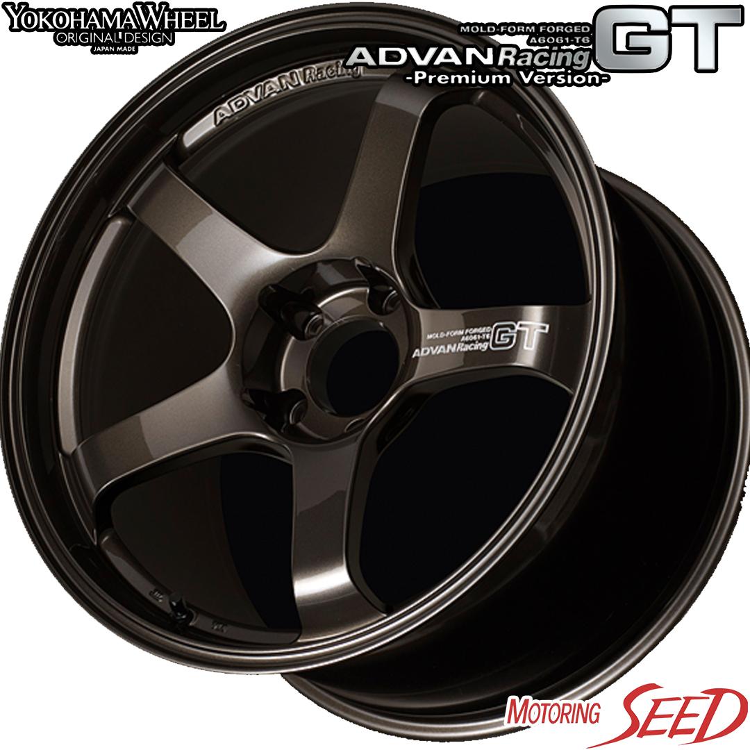 新品タイヤ ホイール ヨコハマ アドバン レーシング GT プレミアムバージョン × A08B2 WRX S4 大規模セール マジェスタ等に WHEEL サマータイヤホイール4本セット 114.3 Racing 18×8J 40R18 +45 超特価SALE開催 245 YOKOHAMA ADVAN 5H