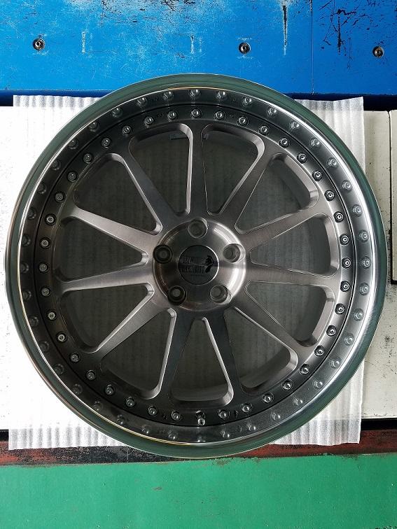 レオンハルト ゼーレ ブラッククリア/BRS 20x9J 5H 114.3 +36-4本セット価格