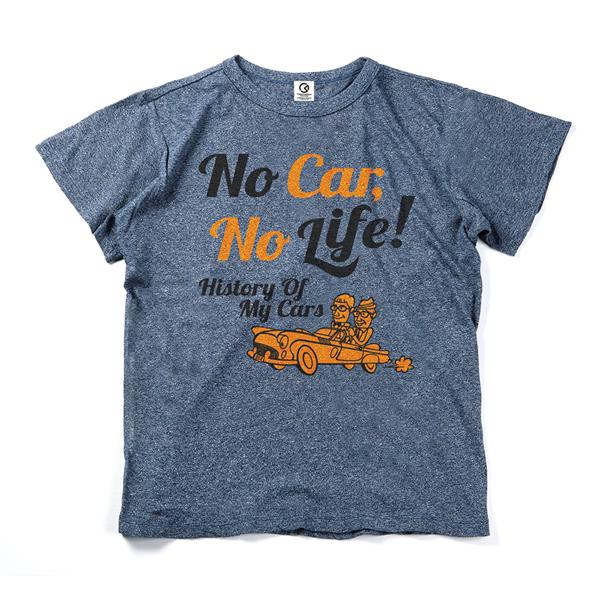 「おぎやはぎの愛車遍歴」オリジナルTシャツ History Of My Cars(スペシャルヴィンテージ仕様)メランジネイビー(メンズ ファッション 半袖 かっこいい 40代 男性 プレゼント ナチュラル 30代 誕生日 お父さん おしゃれ トップス xl 大きいサイズ)