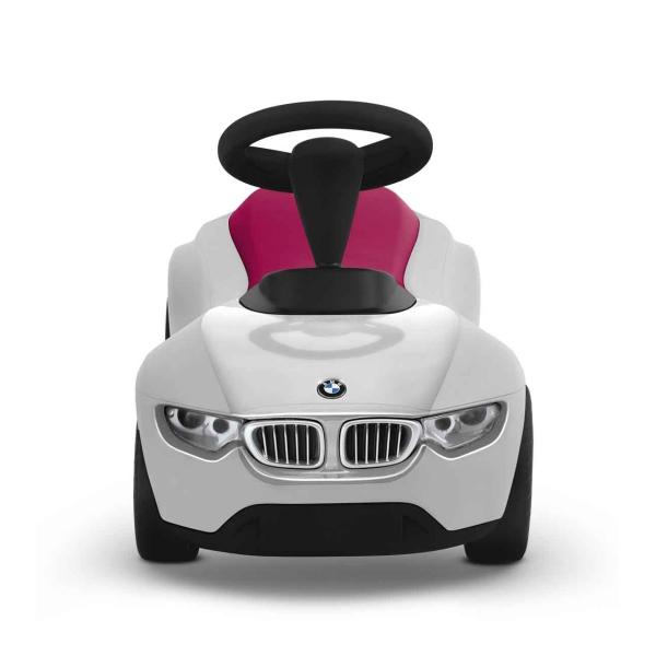 【送料無料/あす楽対応】BMW キックカー ベビーレーサーⅢ ホワイト/ラズベリー 80932361377(おもちゃ オモチャ 玩具 トイ ミニチュア ベビー 赤ちゃん カー 出産祝い プレゼント ギフト 贈り物 ボーイズ 男の子 贈り物 ギフト プレゼント 通販)