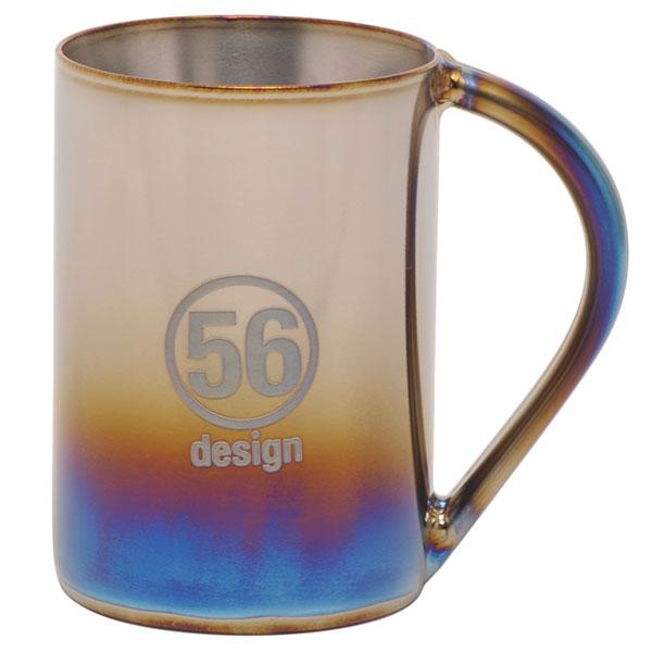 【送料無料】56design x SPIRA(スピーラ)中空二重チタンマグカップ