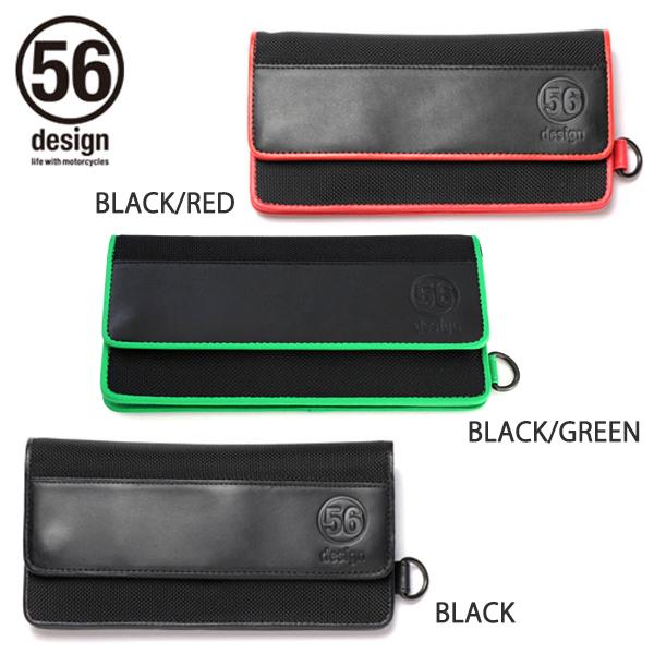 【送料無料】56デザイン ライダース ウォレット / 56design Riders Wallet