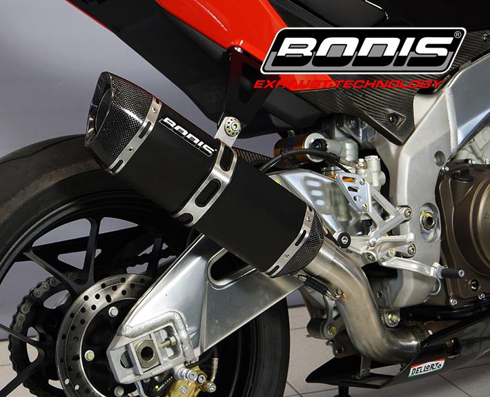 ドイツ製BODIS ボディス スリップオンマフラー APRILIA アプリリア セール 登場から人気沸騰 オンラインショップ RSV4 09-