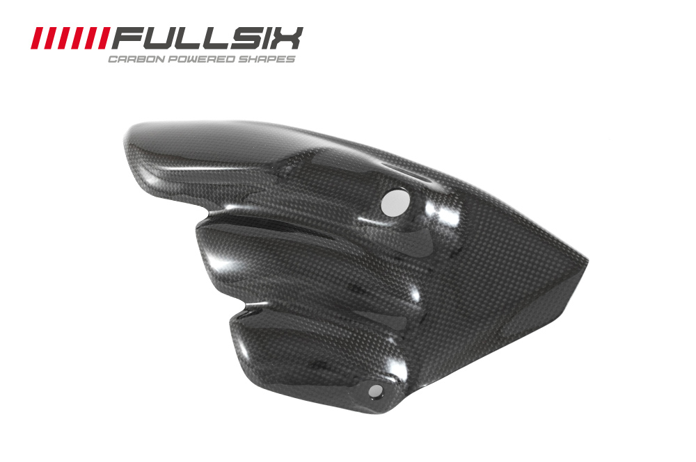 FULLSIX (フルシックス)マフラープロテクター(純正形状)MV AGUSTA BRUTALE 675/800