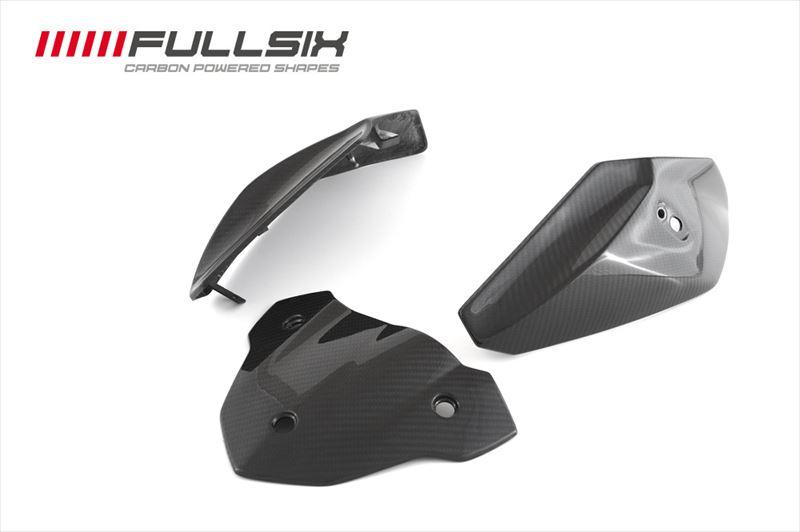 FULLSIX (フルシックス)ヘッドライトカバー(3点セット)BMW S1000R (13-)