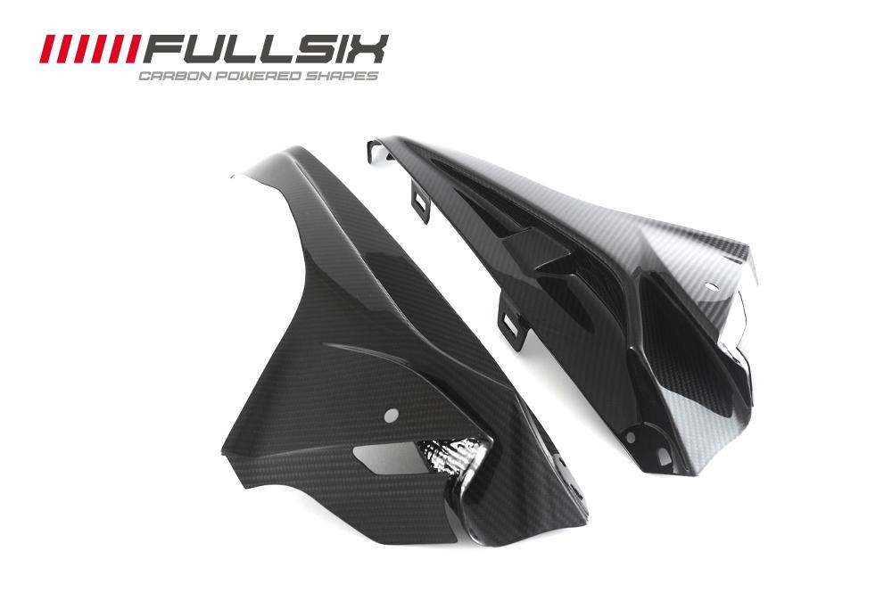 ドライカーボン製 FULLSIX フルシックス 価格 交渉 送料無料 15- S1000RR アッパーサイドパネルセットBMW 情熱セール
