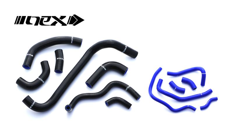 NEX Performance シリコンラジエターホース SUZUKI GSX-R1000(09-16)