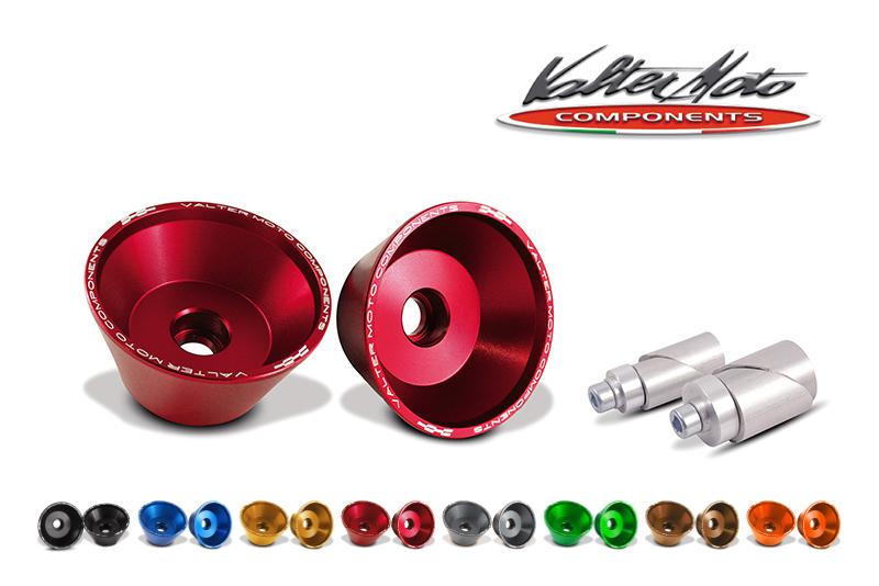 イタリア100%PRODUCT KAWASAKI Z1000 ABS含む (14-16)Valter Moto (バルターモト)フロント用 アクスルスライダー