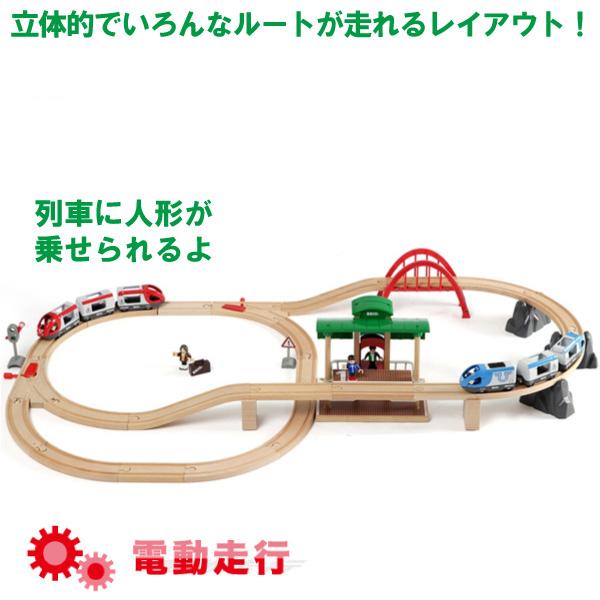 ブリオ 木製レールシリーズ トラベルレールセット(3歳から)【店頭受取も可 吹田】