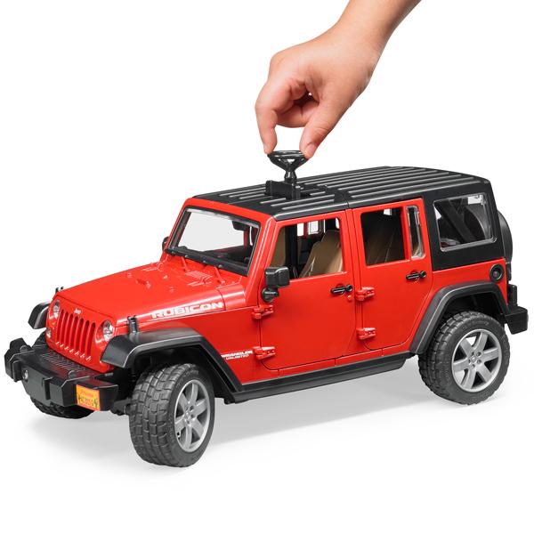 Mottozutto Pro Series Bruder Bruder Toy Car Jeep Rubicon Jeep