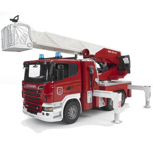 ブルーダープロ はたらくくるま SCANIA消防車(3歳から)【店頭受取も可 吹田】