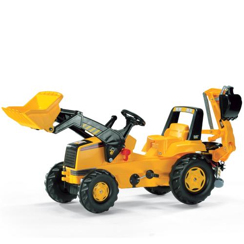 ロリートイズ rolly toys 乗用玩具 CATジュニアトラック(3歳から)【店頭受取も可 吹田】