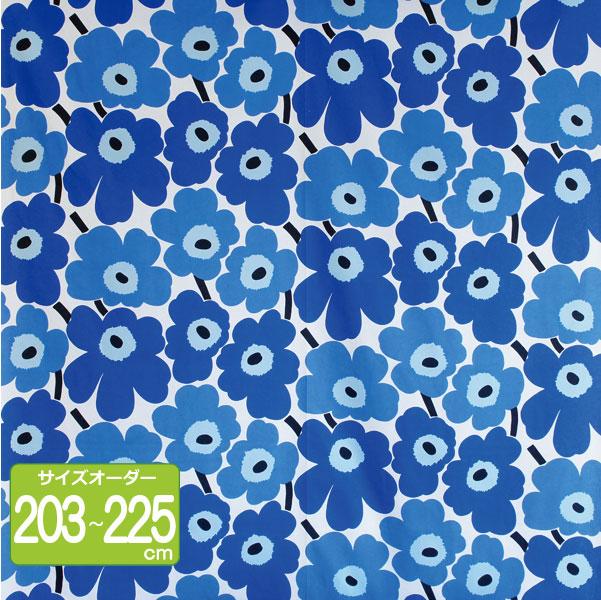 マリメッコ オーダーカーテン 丈203cm~225cm PIENI UNIKKO(ピエニ ウニッコ)/BLUE【店頭受取も可 吹田】