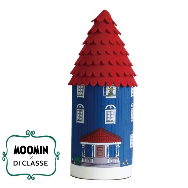 ディクラッセ DI CLASSE×ムーミン テーブルランプ ムーミンハウス/レッド(径126mm)