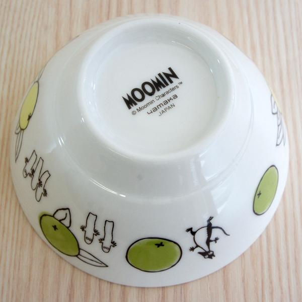 ムーミン 陶器のライスボウル お茶碗 citrus dots/シトラスドット スナフキン