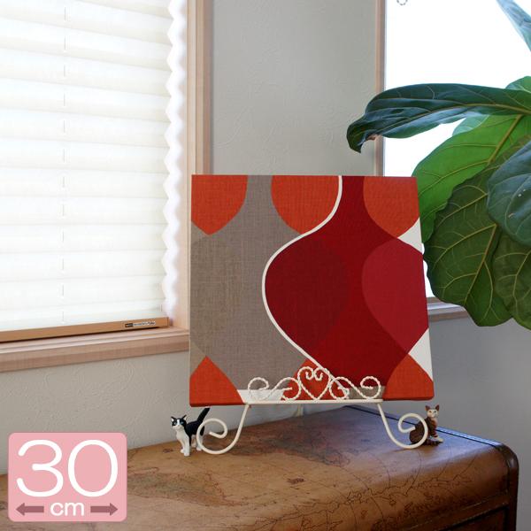 패브릭 패널 ボラスコットン/boras cotton MALAGA (말라가)/RED 300 × 300mm 북유럽 _0824 라쿠텐 카드 분할