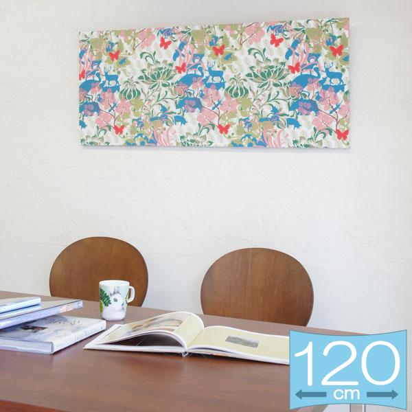 ファブリックパネル ボラスコットン boras cotton DJURTRAD GARD(ユートラッドゴッド) 120×50cm インテリア 壁掛 壁飾【店頭受取も可 吹田】