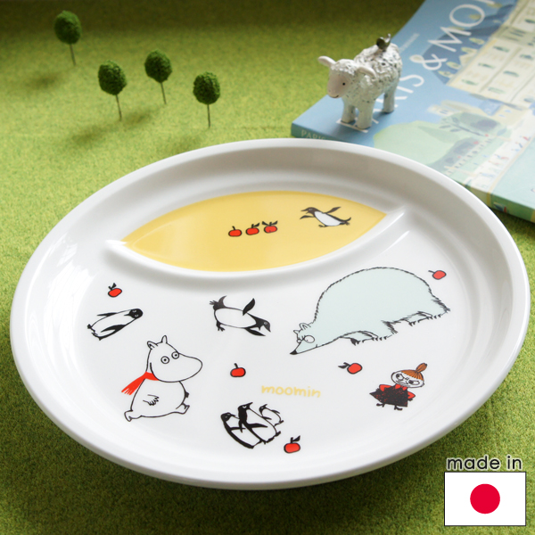 cost of cabinets for kitchen mottozutto moomin pottery partition plate yellow 14038