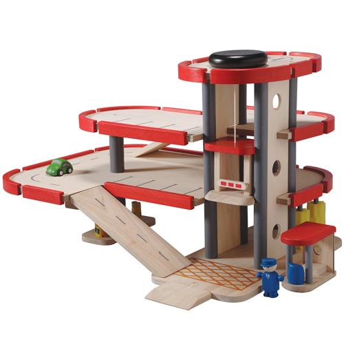プラントイ 木のおもちゃ PlanCityパーキングガレージ(3歳から)【店頭受取も可 吹田】