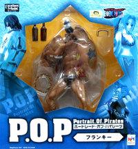 ▲ 【送料無料】【未開封】フランキー POP フィギュア ワンピースシリーズ NEO-2 ONE PIECE ワンピース フィギュア メガハウス 国内正規品 Portrait.Of.Pirates 【代引き不可】