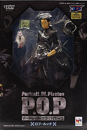 ▲ 【送料無料】【未開封】ロブ・ルッチ POP フィギュア NEO-6 ワンピースシリーズ ONE PIECE ワンピース フィギュアメガハウス 国内正規品 Portrait.Of.Pirates 【代引き不可】