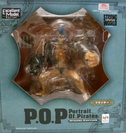 ▲ 【送料無料】【未開封】フランキー POP フィギュア ゛STRONG EDITION゛ONE PIECE ワンピース フィギュア メガハウス 国内正規品 Portrait.Of.Pirates 【代引き不可】