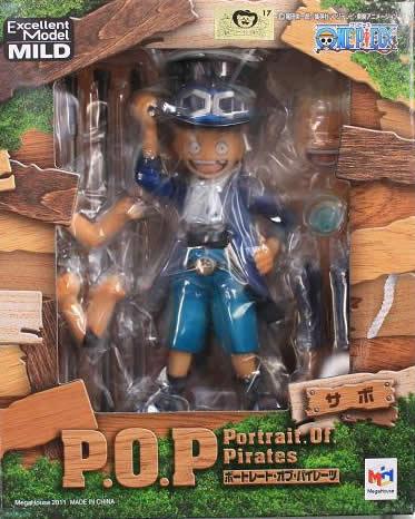 ▲ 【送料無料】【未開封】サボ POP フィギュア CB-EX ONE PIECE ワンピース フィギュア メガハウス 国内正規品 Portrait.Of.Pirates 【代引き不可】