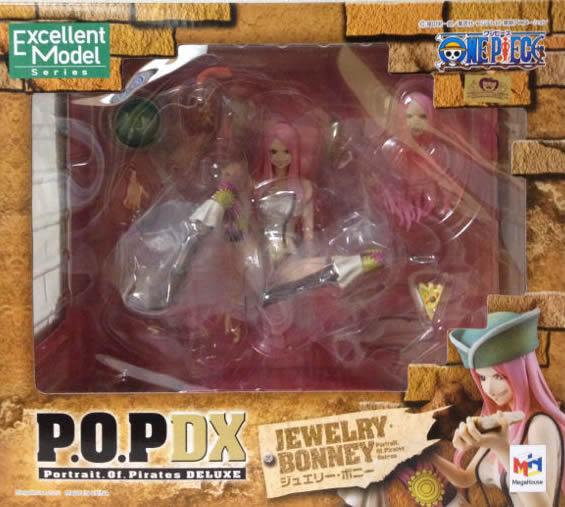 ▲ 【送料無料】【未開封】 ジュエリー・ボニー POP フィギュア NEO-DX ONE PIECE ワンピース フィギュア メガハウス 国内正規品 Portrait.Of.Pirates 【代引き不可】