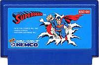 発送までにお時間がかかる場合がございます ゆうメール2個まで200円 FC 商舗 ファミコンソフト ケムコ スーパーマンアクションゲーム おすすめ 動作確認済み 箱説なし 中古 本体のみ ファミリーコンピュータカセット 代引き不可