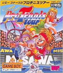 ▲ Only as for the professional tennis tour sports operation check finished  body of GB Game Boy software Jimmy Connors, it is 05P18Jun16