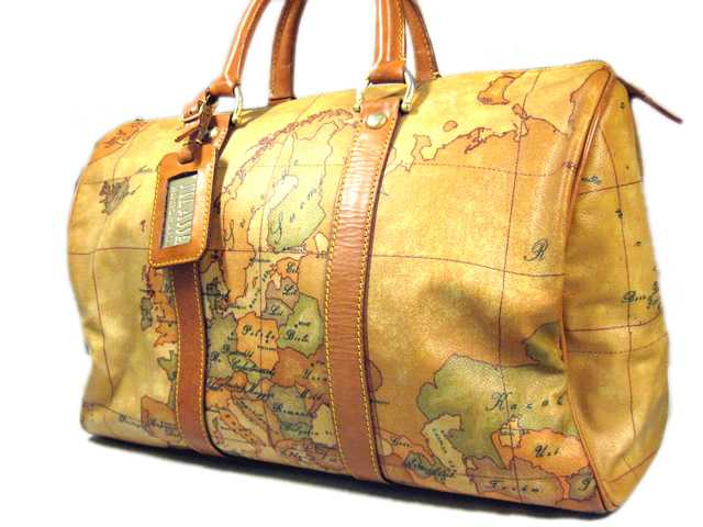 Brand shop moumou house rakuten global market primaclasse bag primaclasse bag prima classe boston bag world map design pvc leather camel unisex p15aug15 gumiabroncs Image collections