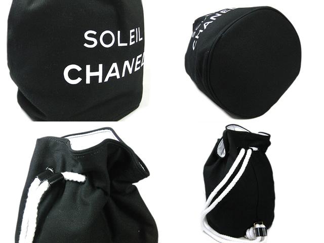 CHANEL シャネル 巾着型 肩掛けショルダーバッグ ブラック 極美品qMSUGzVp