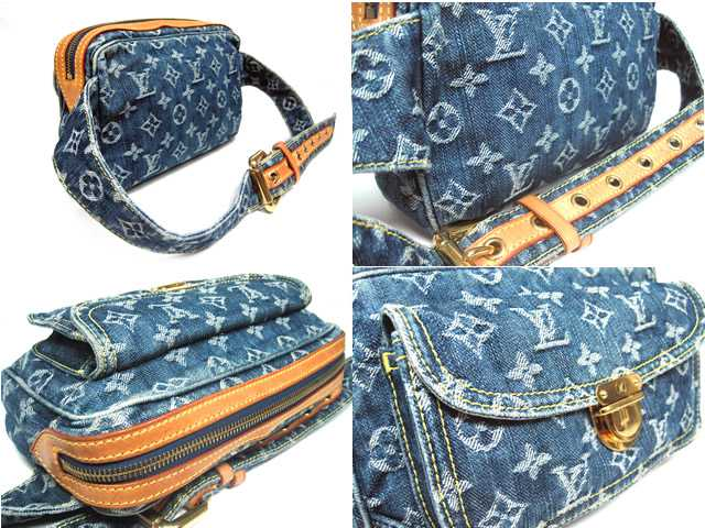 443a04a1f7e LOUIS VUITTON ♦ Louis Vuitton ♦ Monogram Denim ♦ bum bag ♦ waist bag ♦  Shoulder bag ♦ M95347 ♦ price 117600 Yen ♦ Mint ♪ Vuitton ...