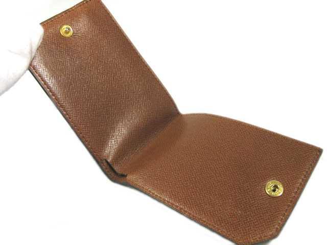 LOUIS VUITTON ■ Louis Vuitton ■ Monogram ■ older card case coin purse ■ ListId! rarities ♪ ■ M61980 ■ unisex! Vuitton Louis Vuitton Vuitton LV 10P01Jun14