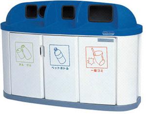 送料無料(北海道・沖縄・離島以外)カイスイマレン ジャンボボトム LLP300W 190L 分別ペール ゴミ回収BOX 4台ユニットタイプ 【smtb-k】【kb】~