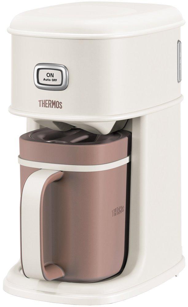 送料無料(北海道・東北・沖縄・離島以外) サーモス ECI-660 MBL アイスコーヒーメーカー 0.66L バニラホワイト