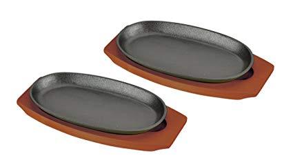 在庫設定しておりません在庫切れの場合7日~14日後出荷予定 3980円以上送料無料 パール金属 スプラウト ステーキ皿2枚組 買物 HB-3026 木製プレート2枚組 お歳暮 鉄板 ハンドル付 24cm