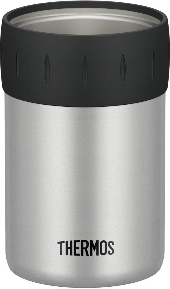 在庫設定しておりません在庫切れの場合7日~14日後出荷予定 送料無料 サーモス 最安値挑戦 保冷缶ホルダー SL JCB-352 350ml缶用 シルバー 即納送料無料