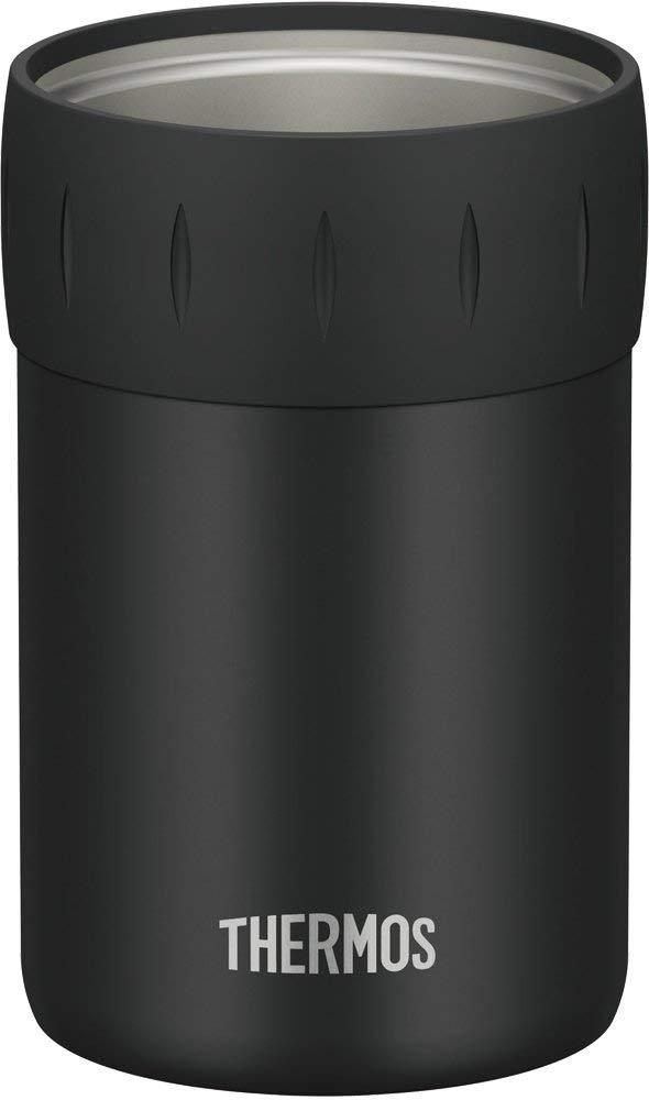 在庫設定しておりません在庫切れの場合7日~14日後出荷予定 推奨 送料無料 サーモス 保冷缶ホルダー 350ml缶用 JCB-352 ブラック BK 完全送料無料