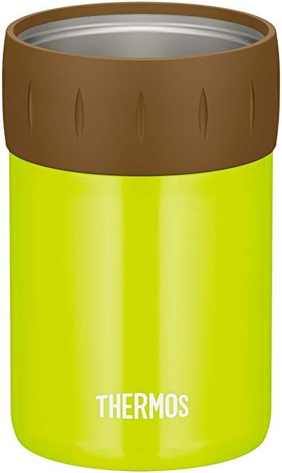 在庫設定しておりません在庫切れの場合7日~14日後出荷予定 送料無料 サーモス 保冷缶ホルダー JCB-352 メーカー再生品 ライムグリーン ※アウトレット品 350ml缶用 LMG