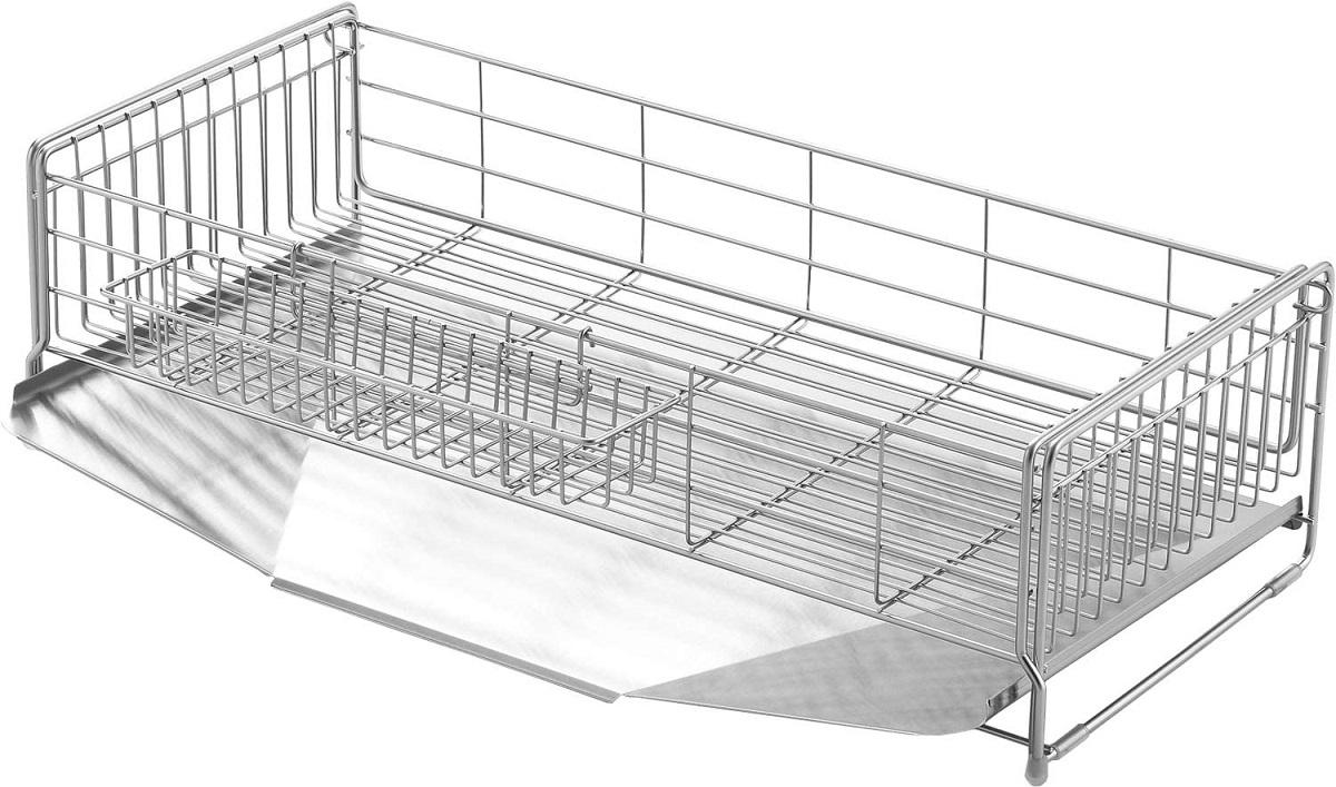 26~49.5×57cm 水切りラック 1306055 シンクサイド幅の広がる水切り 送料無料(北海道・東北・沖縄・離島以外)ヨシカワ 日本製