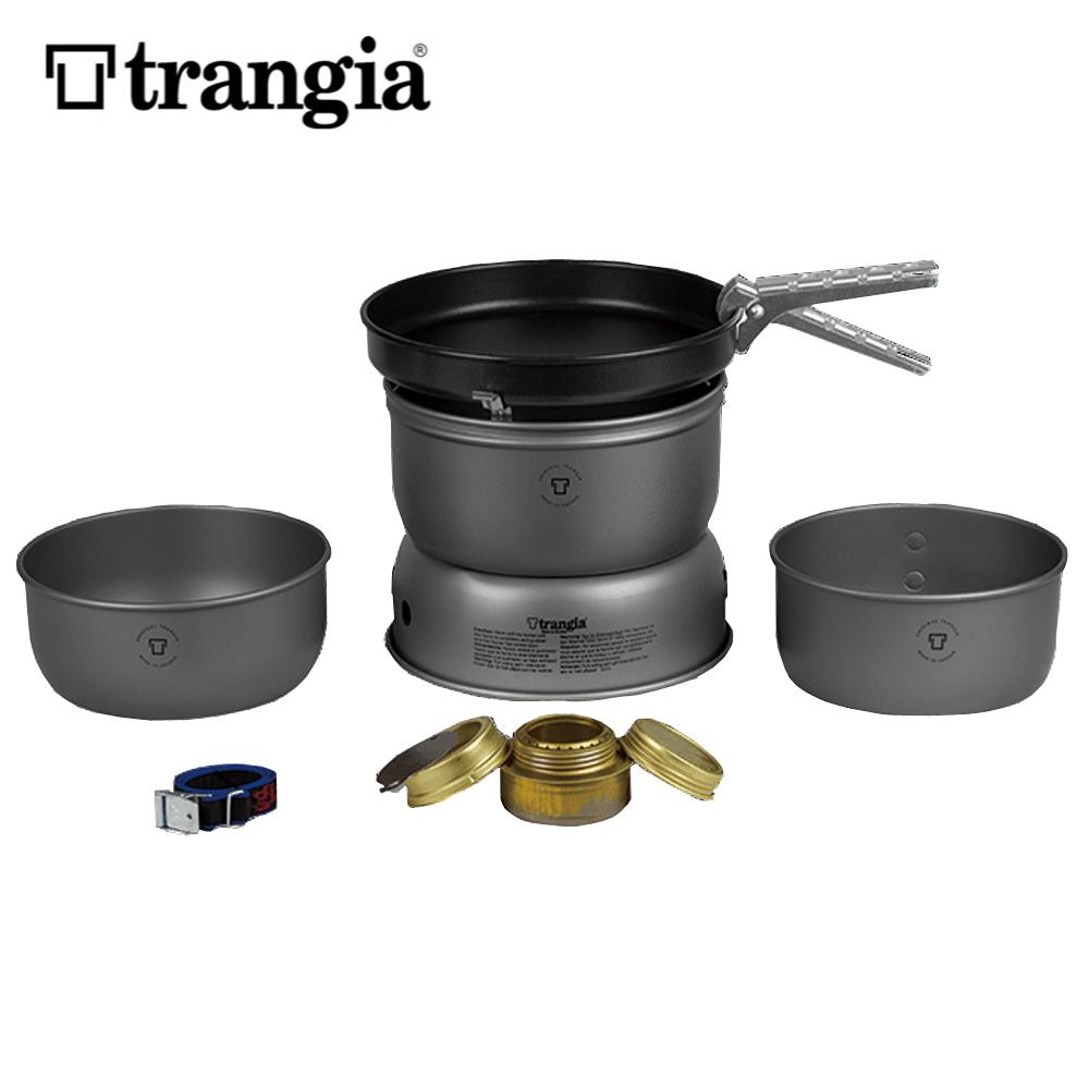 Trangia (トランギア) ストームクッカーL・ULハードアノダイズド(TR-25-3HA)(クッキングセット)(アルコールストーブ)(クッカー)(調理器具)(アウトドア)【送料無料】