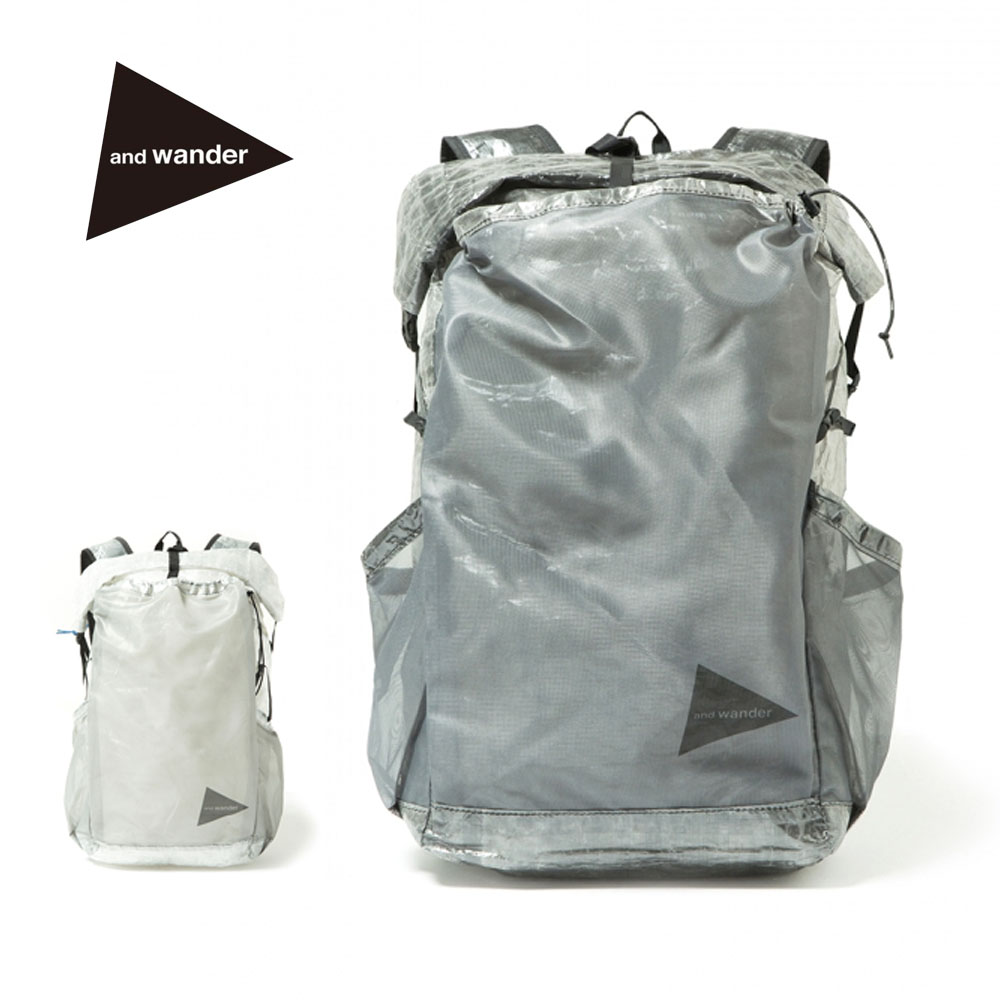 and wander(アンドワンダー)cuben fiber backpack(AW-AA930)