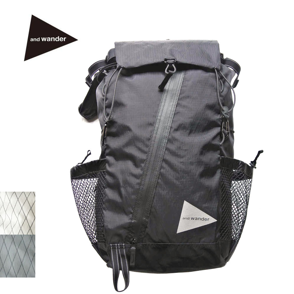 and wander(アンドワンダー)X-Pac 30L backpack(AW-AA651)
