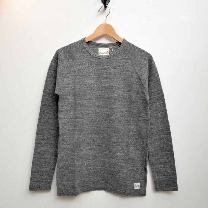 【メンズ】kepani[ケパニ]ラフィストレッチフライス ロングスリーブTシャツ  KP9902MS