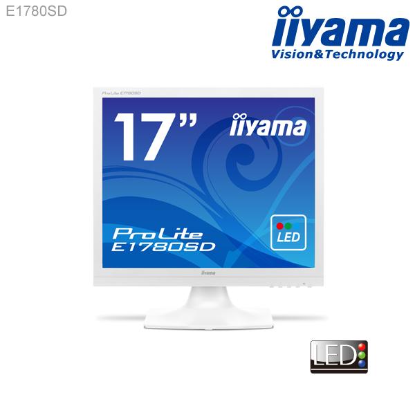 【スマホエントリーで7倍】【LED★ iiyama E1780SD 17型スクエア液晶ディスプレイ 【1280×1024/HDCP対応/応答速度5ms/コントラスト比5000000:1(最大)】<新品>