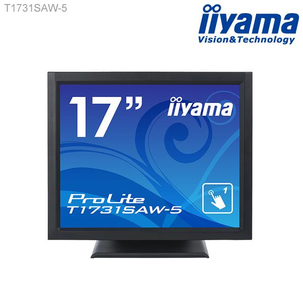 モニター タッチパネル iiyama ProLite T1731SAW-5 17型 液晶ディスプレイ 1280×1024 スタンドタイプ 超音波表面弾性波方式 シングルタッチ 応答速度5ms 新品