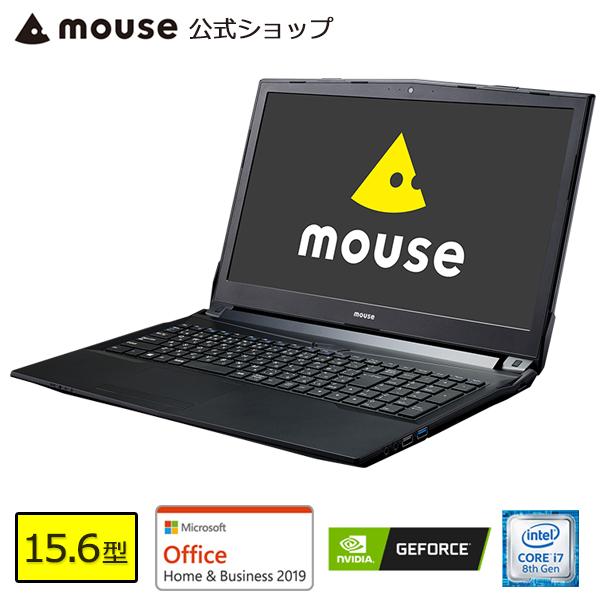 【ポイント10倍♪~2/25 15時まで】MB-K690XN-M2SH2-MA-AB ノートパソコン パソコン 15.6型 Core i7-8750H 16GB メモリ 256GB M.2 SSD 1TB HDD GeForce MX150 Microsoft Office付き mouse マウスコンピューター PC BTO 新品