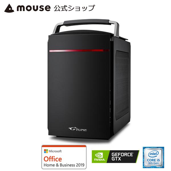 【ポイント10倍♪】LG-i330SA1-SH2-MA-AB ゲーミングPC デスクトップ パソコン Windows10 Core i5-9400 8GBメモリ 256GB M.2 SSD(NVMe) 1TB HDD GeForce GTX 1660 Microsoft Office付き mouse マウスコンピューター PC BTO 新品